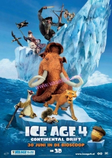 poster č.02025 Ice age 4