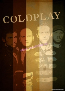 poster č.01012 Coldplay Band