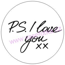 Button - placka I Love You 1