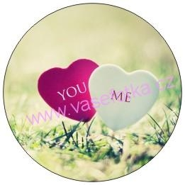 Button - placka I Love You 4