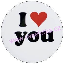 Button - placka I Love You 5
