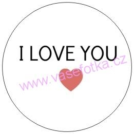 Button - placka I Love You 6