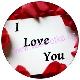 Button - placka I Love You 9