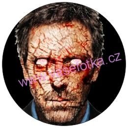 Button - placka Dr. House - Gregory